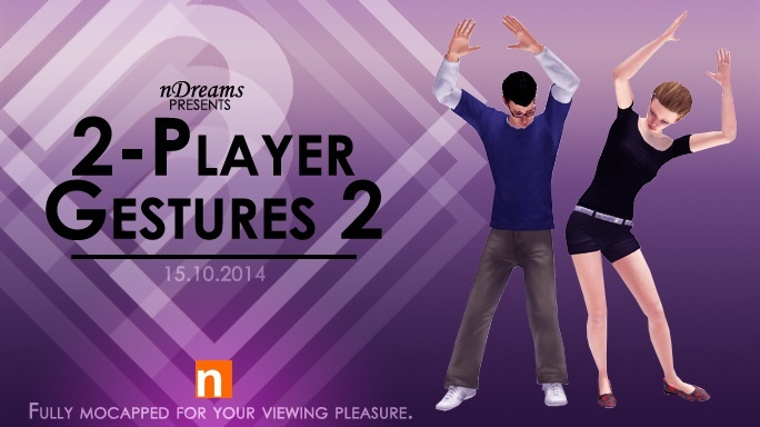 New this week from nDreams - Oct. 15th, 2014, drake21734, Oct 13, 2014, 10:14 AM, YourPSHome.net, jpg, 2PlayerGestures2_684.jpg