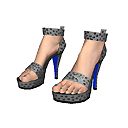 New LIVING Additions & Strictly Sparkle clothing from JAM Games - Aug. 6th, 2014, kwoman32, Aug 5, 2014, 12:05 AM, YourPSHome.net, png, Black_Sandal_shoes_128x128.png