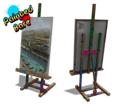 Painted Bare Arrives This Week From Jam Games, kwoman32, Jan 28, 2013, 1:07 PM, YourPSHome.net, jpg, Easel_01.jpg