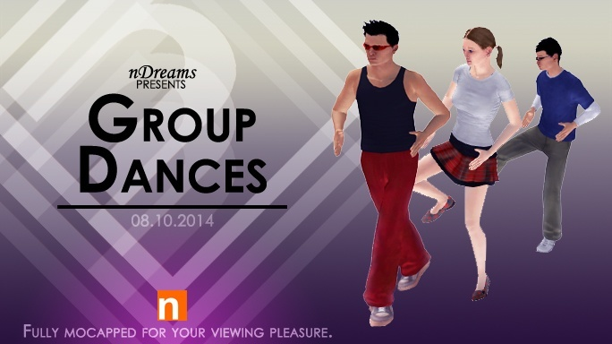 New this week from nDreams - Oct. 8th, 2014, kwoman32, Oct 6, 2014, 6:47 PM, YourPSHome.net, jpg, GroupDancePacks_684.jpg