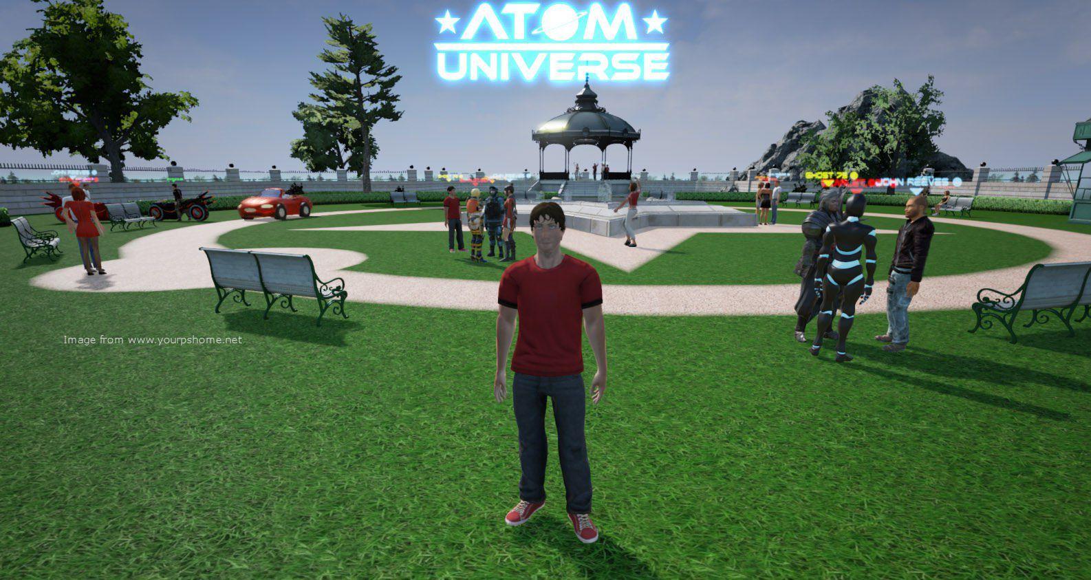 Karen Talks To Atom Republic About Atom Universe, kwoman32, Nov 30, 2014, 4:55 PM, YourPSHome.net, jpg, PublicParkCrowd-copy.jpg