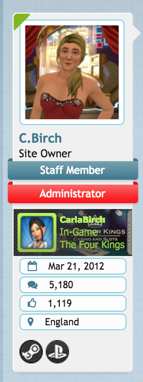 Steam Authentication & Integration added, C.Birch, Jul 31, 2015, 11:13 PM, YourPSHome.net, png, Screen Shot 2015-07-31 at 23.15.55.png