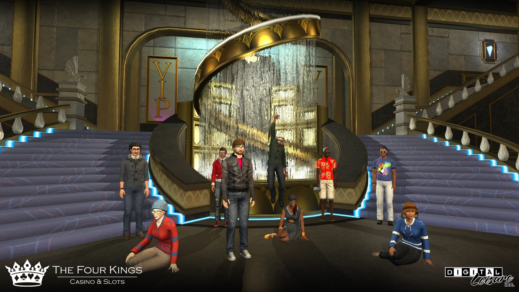 News About Digital Leisure's Four Kings Casino, kwoman32, Mar 16, 2015, 6:54 PM, YourPSHome.net, jpg, ss6_Fountain.jpg