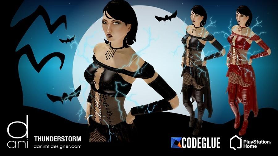 Happy Halloween From Dani & Codeglue! - Oct. 23rd, 2013, kwoman32, Oct 21, 2013, 4:31 PM, YourPSHome.net, jpg, WEB-PROMO_THUNDERSTORM-2013_by-Dani_and_Codeglue.jpg