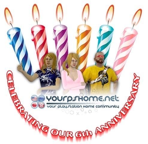 Happy 6th Birthday YPSH !, kwoman32, Dec 7, 2014, 5:48 PM, YourPSHome.net, jpg, ypsh logo 6th.jpg