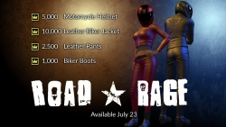 "Four Kings Casino & Slots - New ""Road Rage"" items, enter Casino on the 23rd July"