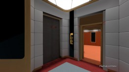 Enterprise-D Main Bridge with attached Captain's Ready Room