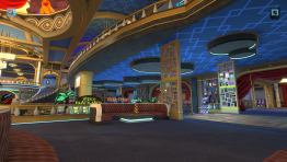 The Four Kings & Slots: Lobby
